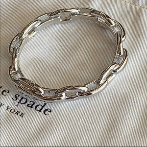 Kate Spade! Chain Link Bangle Bracelet